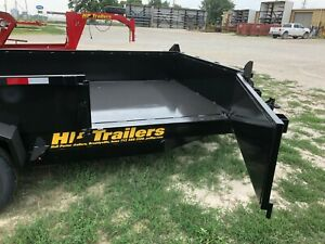 2021 16 Dumpbox Trailer With Side Gate