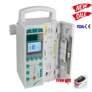 Infusion Pump Iv Fluid Equipment Voice Alarm Patient Monitor Kvo Purge Sale