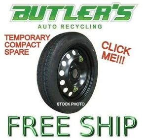 07 17 Camry Compact Spare Donut Temporary Emergency Tire Wheel Rim Oem