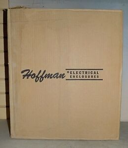 Hoffman Csd16166ss Stainless Steel 16x16x6 Wallmount Electrical Enclosure New