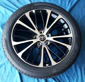 2019 Toyota Camry 18 Oe Wheels Tires 4 Oem 18x8 Rims 235 45r18 Oe Tires