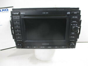 2007 Chrysler 300 Navigation 6 Disc Cd Mp3 Player Radio Rec Oem 05064184af