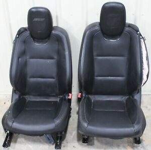 2010 2013 Camaro Factory Leather Seats With Seat Brackets Used Oem Gm