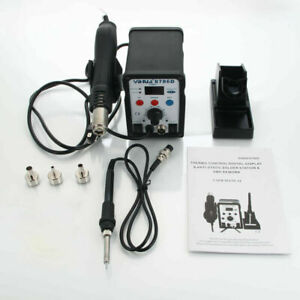 Yihua 8786d 2 in 1 110v Soldering Station Hot Fire Gun Soldering Iron Kit Us