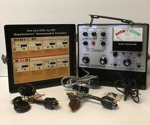 Vintage Sencore Cr143 Cathode Ray Tube Tester Sold As Is Untested