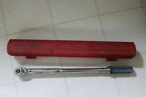 Snap on Qjr 3200b Torque Wrench With Case 200 Ft lb