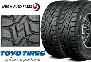 2 Toyo Open Country R T 37x12 50r17 124q Rugged All Terrain Truck Suv Cuv Tires