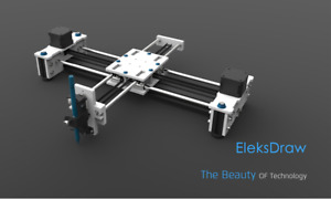 Eleksmaker Eleksdraw Xy Plotter Pen Drawing Writing Robot Diy Drawing Machine