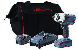 3 8 Iqv 20v Cordless Impact Wrench Two Battery Kit Tool W5133 k22