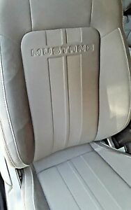 2019 Ford Mustang Scripted Striped 4 Seat Upholstery Fit 2015 2019 Coupe Seats