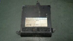 1990 Bmw 535i Oem Blaupunkt Amplifier 7 607 665 040