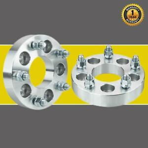 2pc For Mercury Ford Mustang 5x4 5 To 5x5 1 25 1 2 Wheel Spacers Adapters