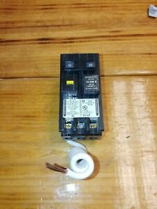 New No Box Square D Homeline Hom250gfi 2p 50a Plug On Ground Fault Breaker