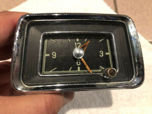 Mercedes Benz Ponton Dash Clock