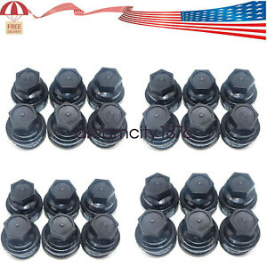 24pcs New Lug Nut Cover Cap Fit Chevrolet Gmc 1500 2500 Full Size Truck 15646250