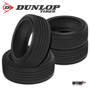 4 X New Dunlop Signature Hp 205 55r16 91v All season Performance Tire
