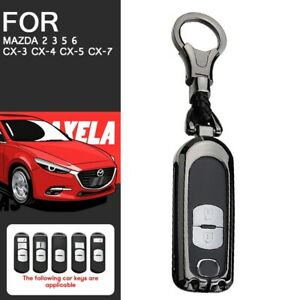 Metal Key Fob Case Holder Shell For Mazda 2 3 5 6 Cx 3 Cx 4 Cx 5 Cx 7 Car Parts