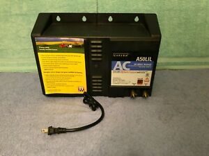Zareba A50lil Ac Powered Low Impedance 50 Miles Fence Charger