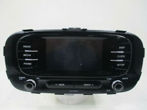 17 2017 Kia Soul Am Fm Satellite Radio W 8 Inch Display Screen Oem