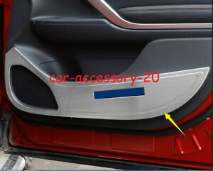 Car Door Anti Kick Pad Protect Cover Trim For Mitsubishi Eclipse Cross 2018 2020