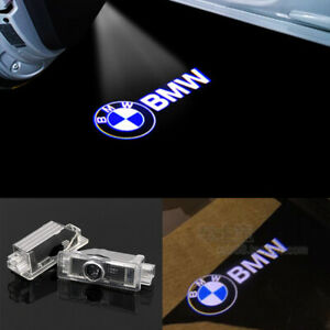 2x Led Courtesy Laser Welcome Projector Logo Shadow Car Door Lights For Bmw All