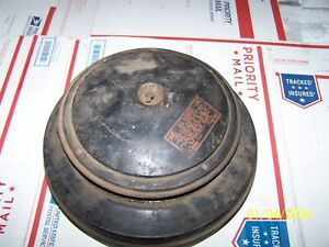 Old Air Breather Intake Cleaner Engine Cover Air Filter Housing Vintage Usa Auto