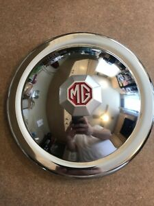 Beautiful Original Vintage Mg Center Hub Cap Hubcap Wheel Cover Automobile 9