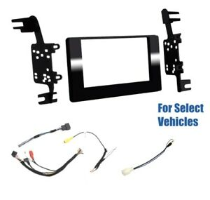 Double Din Car Stereo Radio Dash Wire Kit Combo For Some 2018 2020 Toyota Sienna