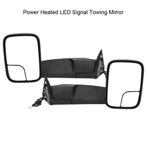 Superior Power Heated Towing Mirrors Kit For Dodge Ram 1500 2500 3500 1998 2001