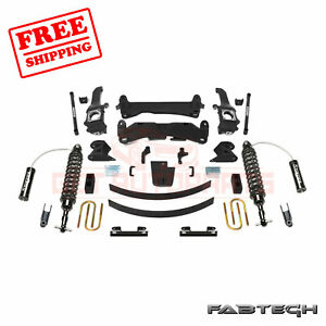 Fabtech 6 Performance Sys W Front Coilover For 15 Toyota Tacoma 6 Lug 2wd 4wd
