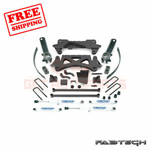 Fabtech 6 Perf Sys W Shocks For 1995 5 04 Toyota Tacoma 4 Cyl 6 Lug 2wd 4wd