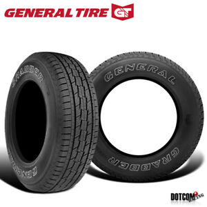 2 X New General Grabber Hts 235 75r15 105t Tires