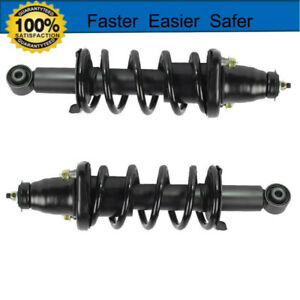 Complete Strut Coil Spring Assembly Rear Pair Fit For 2001 2005 Honda Civic