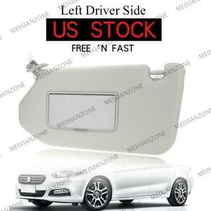 Left Sun Visor For Nissan 2013 Pathfinder 2014 17 Infiniti Qx60 W Light 1pc