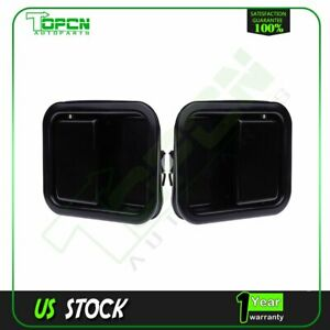 Outside Full Door Handle Pair Heavy Duty Metal For Jeep Wrangler 1991 2006 Yj Tj