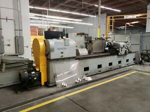 Cincinnati 36 X 120 Cnc Roll Cylindrical Grinder With Xtra Tooling Fanuc 0