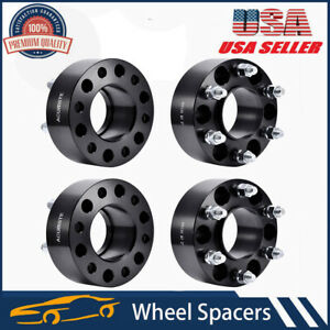 4pcs For Lincoln Ford F150 Expedition 2 Hub Centric Wheel Spacers 6x135 14x2 Us