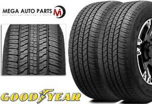 2 Goodyear Wrangler Fortitude Ht 245 70r16 107t Owl All Season Highway A s Tire