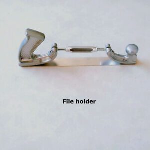 Intbuying Adjustable Body File Holder With 10 Teeth Flat Body File