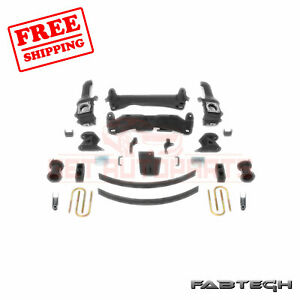 Fabtech 6 Basic System For 2016 17 Toyota Tacoma 6 Lug 2wd 4wd