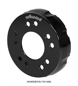 Wilwood 170 14206 Drag Hat Shallow Offset Hat Offset 1 53 Rotor Bolt Circle