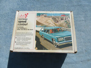 Vintage 1970s New In Box Sears Electronic Speed Control Cruise