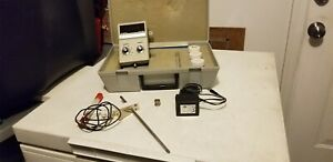 Fisher Scientific 107 Digital Ph Meter With Kit Tested Works