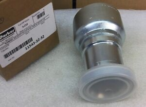 Parker 11543 32 32 2 Crimp style Sae 61 Flanged Hydraulic Fitting New In Box