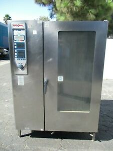 Rational Model Cpc 202g 20 pan Full Size Roll in Gas Combi Oven