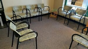 Contemporary Office Waiting Room Reception Room Chairs
