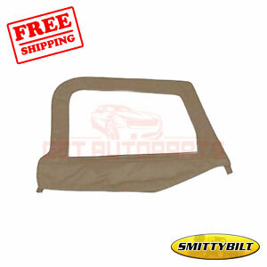 Smittybilt Door Upper Half Skin Oem Fabric For Jeep Wrangler 1997 06
