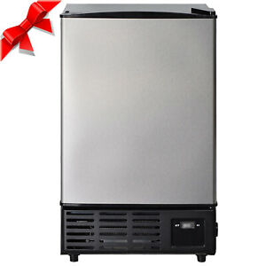 Smad Undercounter Built in Commercial Ice Maker Stainless Steel Ice Cube Machine