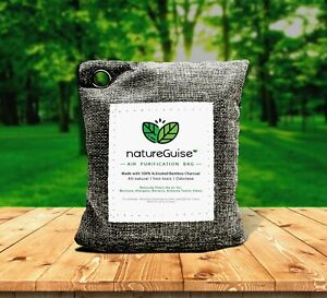 Natureguise Car Natural Air Freshener With Activated Bamboo Charcoal