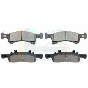4x Front Brake Ceramic Pads For Ford Expedition 2003 2004 2005 2006 Low Dust